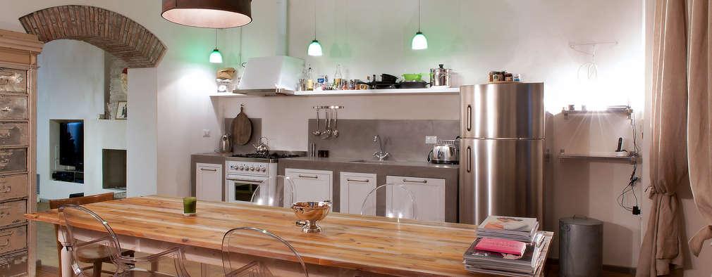 Salle à manger de style de style Industriel par marco bonucci fotografo
