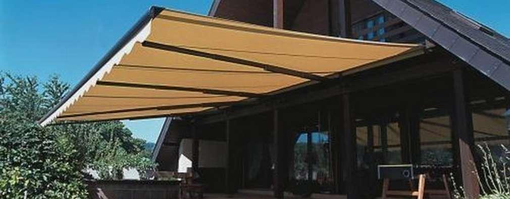 10 toldos y p rgolas que har n que tu terraza se vea for Toldos plegables para terrazas