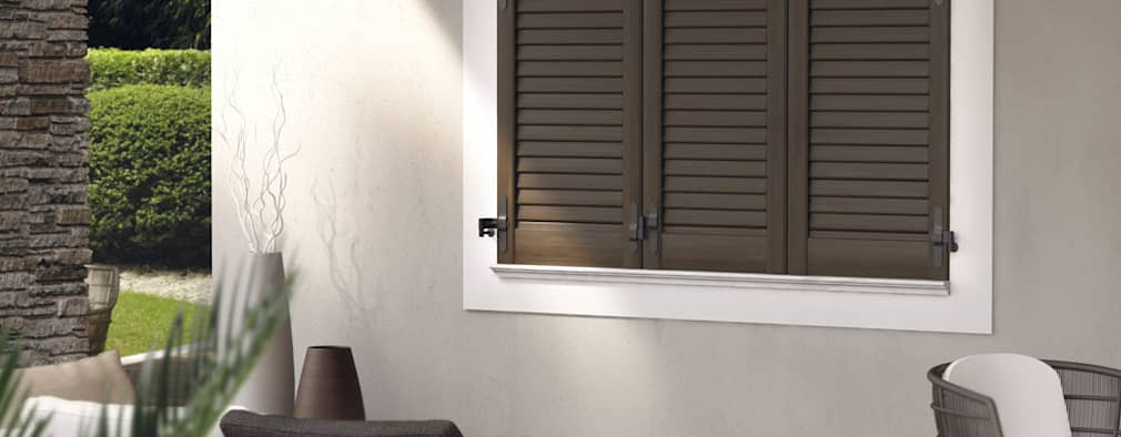 Persiane in alluminio come sceglierle e i prezzi for Disegno finestra con persiane