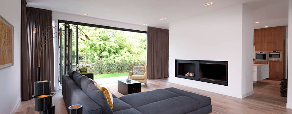 Livings de estilo moderno por paul seuntjens architectuur en interieur