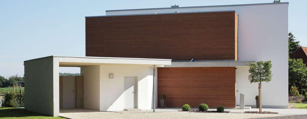 modern Houses by Massiv mein Haus aus Mauerwerk