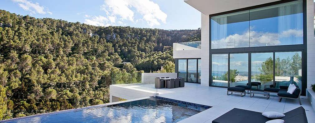 Casa Bünguens Exterior 1: Casas de estilo moderno de CONCEPTO PROYECTOS DE ARQUITECTURA