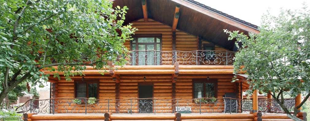 Casa de madeira com decora o cl ssica vai te encantar for Casa rustica classica