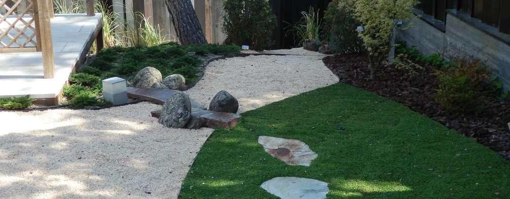 moderne Tuin door ISAURA ROMEO ESTUDIO DE PAISAJISMO