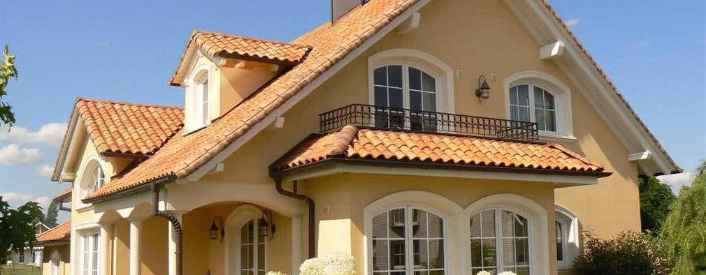 La paleta de colores perfecta para pintar la fachada de tu for Colores para techos de casas