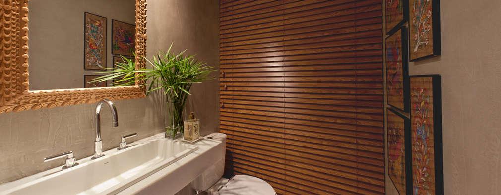 Baños de estilo moderno por IE Arquitetura + Interiores