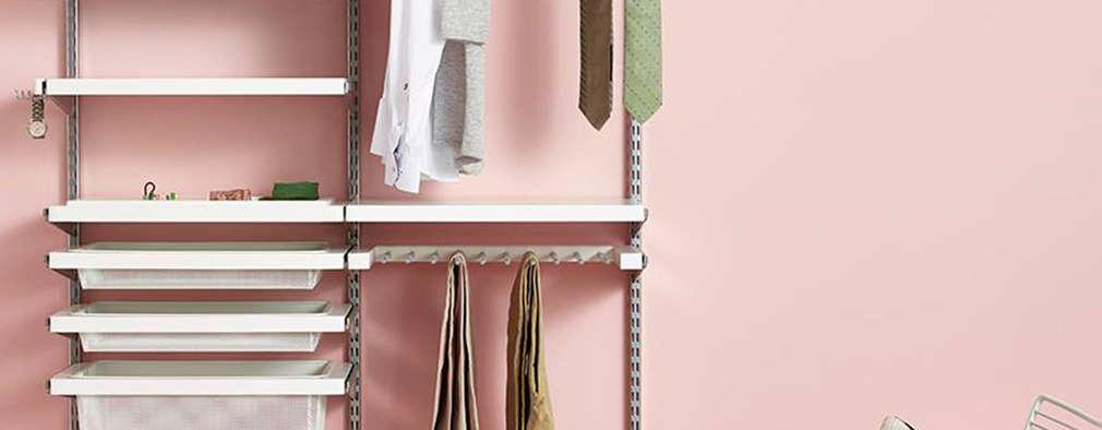 Vestidores de estilo minimalista por Elfa Deutschland GmbH