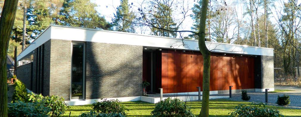 Projekty,  Bungalow zaprojektowane przez Justus Mayser Architekt