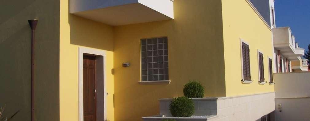 Casas de estilo moderno por Gianluca Vetrugno Architetto