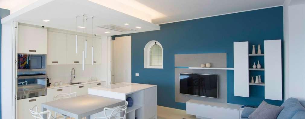 6 soluzioni moderne per dividere cucina e soggiorno for Idee per dividere cucina e soggiorno