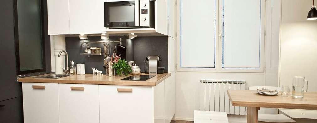 20 zauberhafte k chenideen f r wenig geld. Black Bedroom Furniture Sets. Home Design Ideas