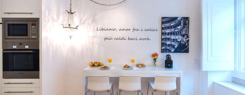 Cocinas de estilo minimalista de Home Staging Factory