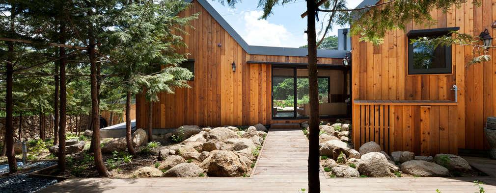 庭院 by hyunjoonyoo architects