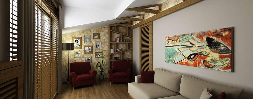 modern Living room by Niyazi Özçakar İç Mimarlık