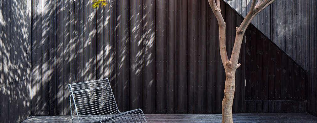 Jardines de estilo minimalista por Ed Reeve