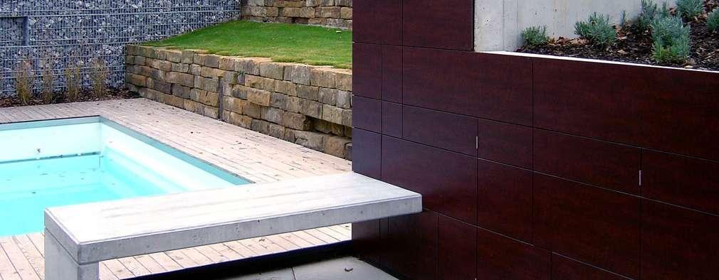 moderne Tuin door di architekturbüro