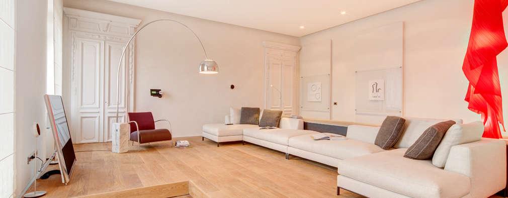 غرفة المعيشة تنفيذ Andrea Bella Concept