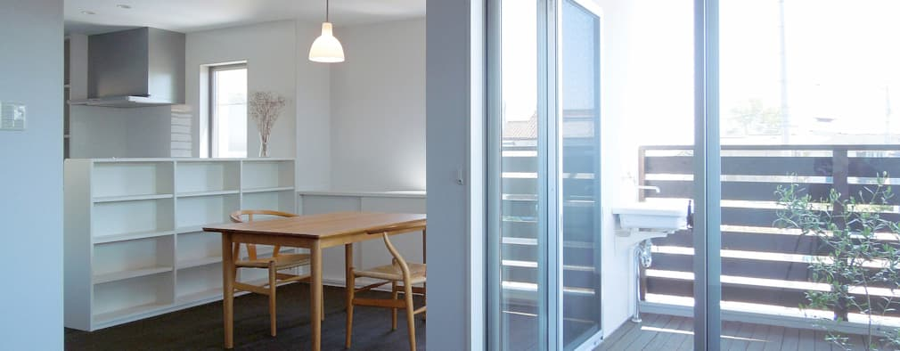 modern Dining room by wada architectural  design office 和田設計