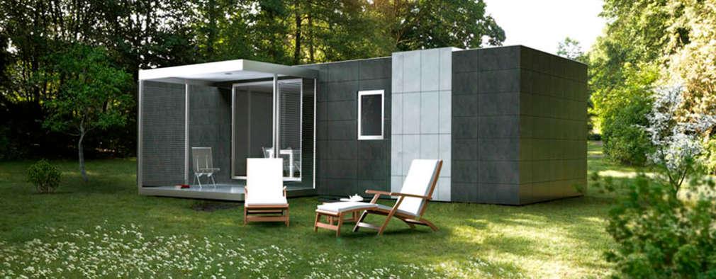 組合屋 by Casas Cube