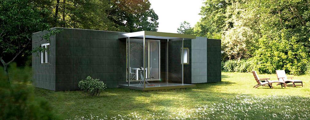 Casas Cube:  tarz Prefabrik ev