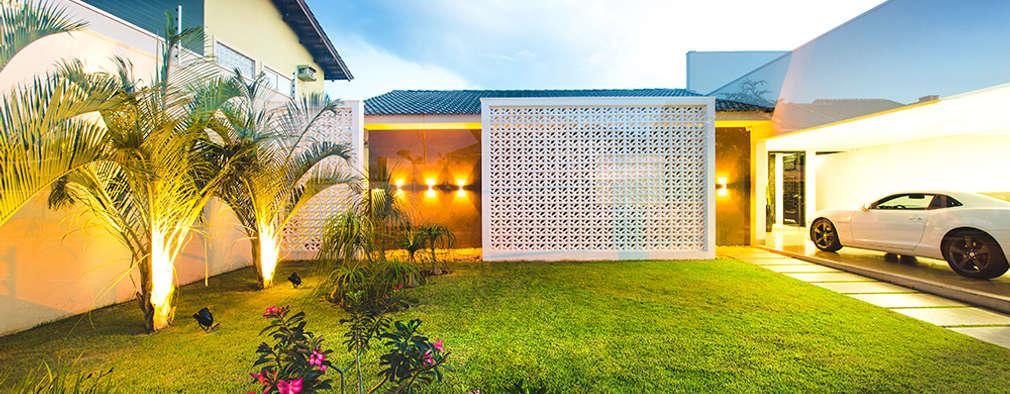 Casas de estilo moderno por Rafaela Dal'Maso Arquitetura