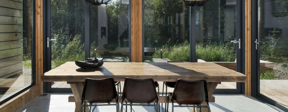 modern Dining room by Kodde Architecten bna