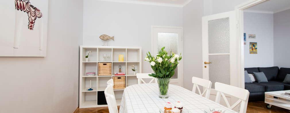 scandinavian Dining room by Better Home
