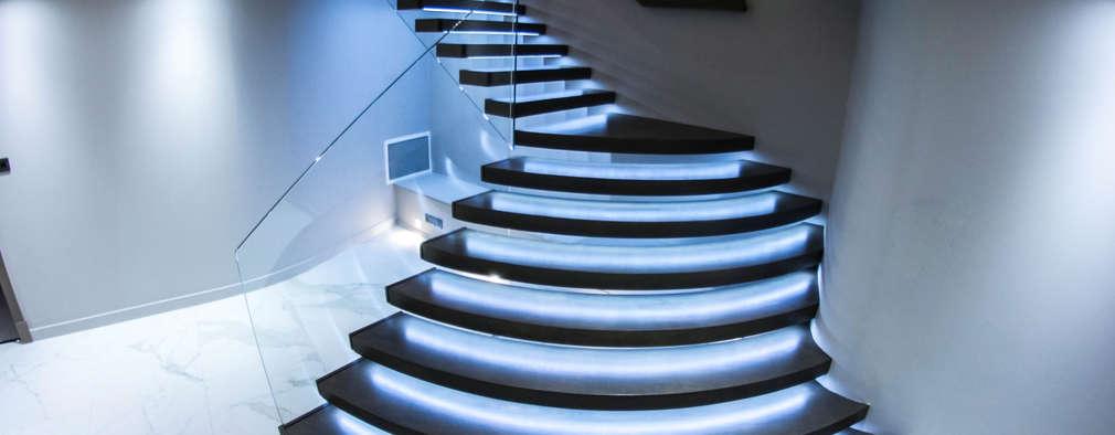 Treppenbeleuchtung: 8 coole Ideen