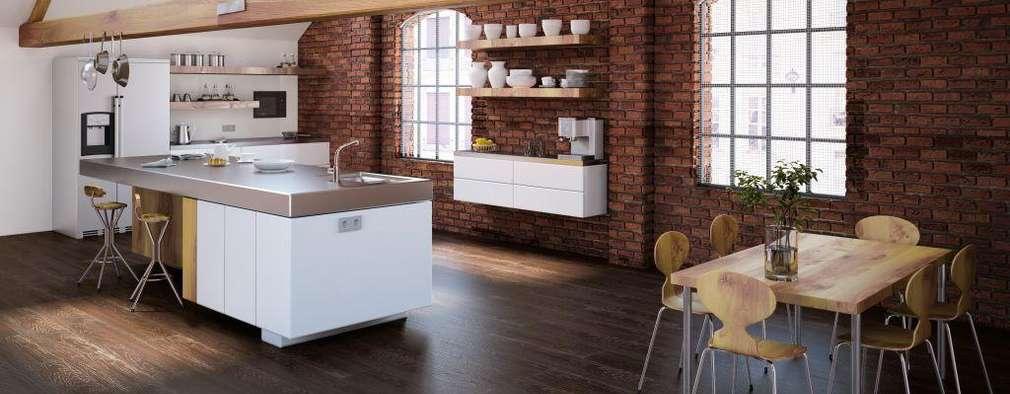modern Kitchen by Supreme Floors Ibérica S.L.