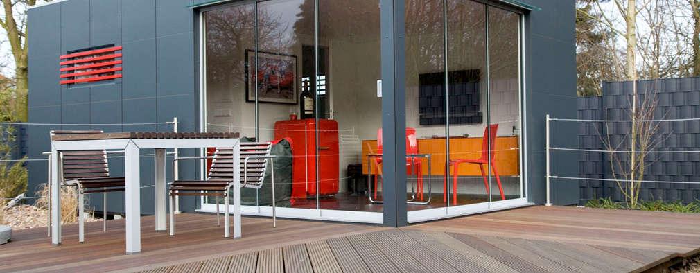 Gartenhaus: Moderner Garten Von GarDomo Designgartenhäuser