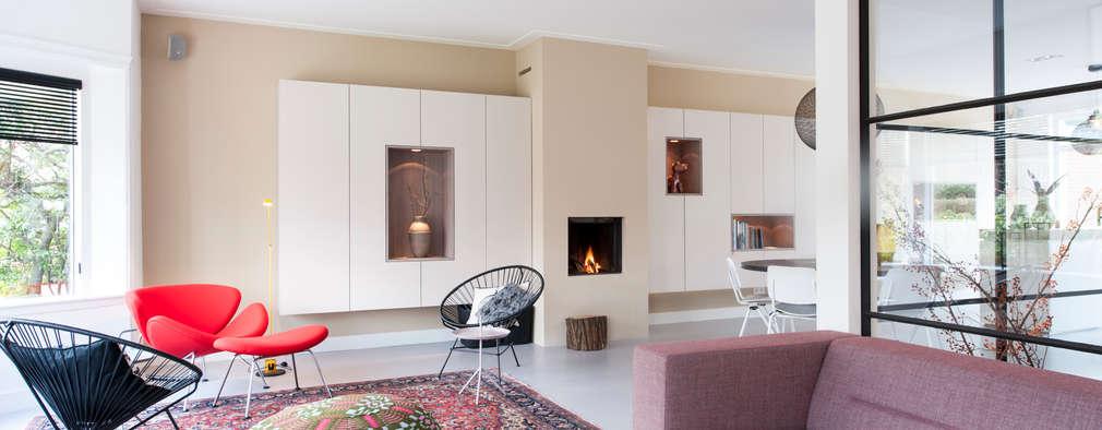 Moderne Wohnzimmer Von StrandNL Architectuur En Interieur