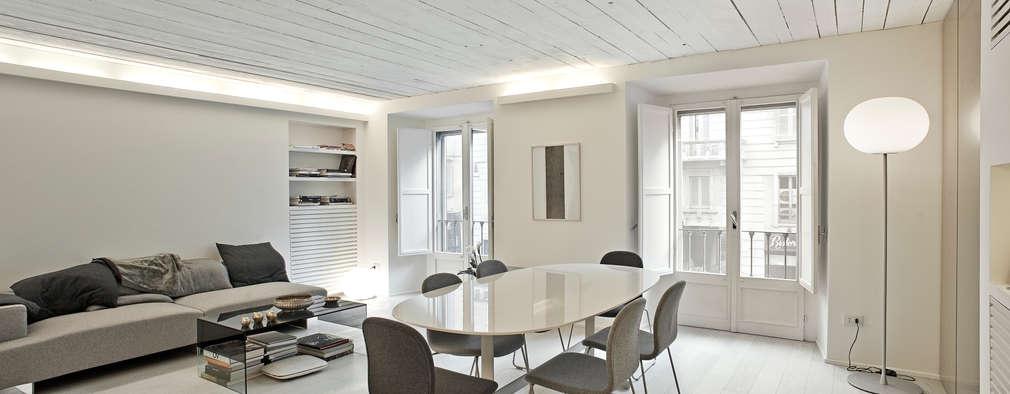 Minimalistische Wohnzimmer Von Bdastudio