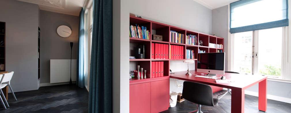 modern Study/office by StrandNL architectuur en interieur