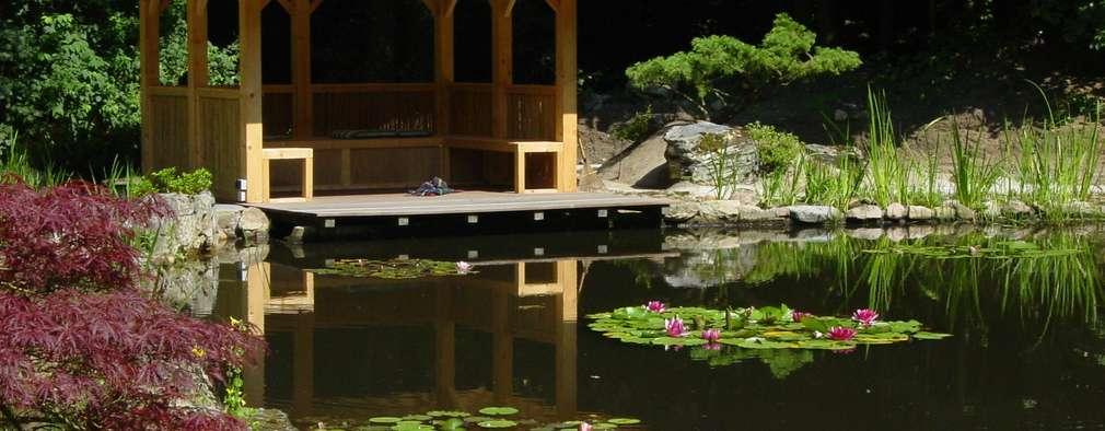 Projekty,  Basen zaprojektowane przez japan-garten-kultur
