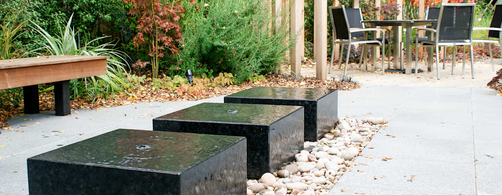 حديقة تنفيذ Rosemary Coldstream Garden Design Limited