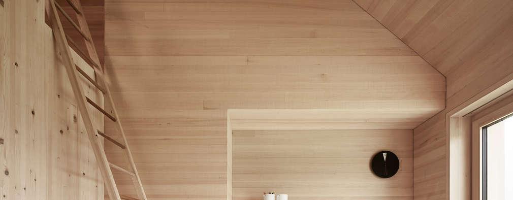 country Study/office by Innauer-Matt Architekten ZT GmbH