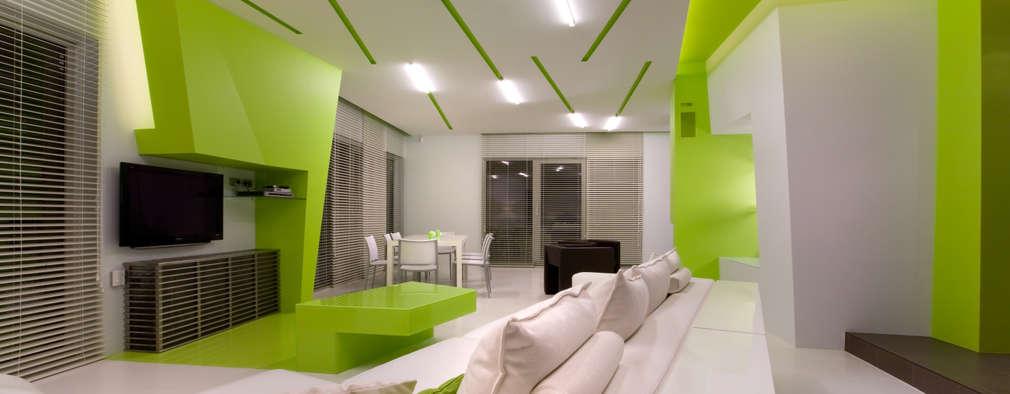 Salas / recibidores de estilo minimalista por ARTRADAR ARCHITECTS