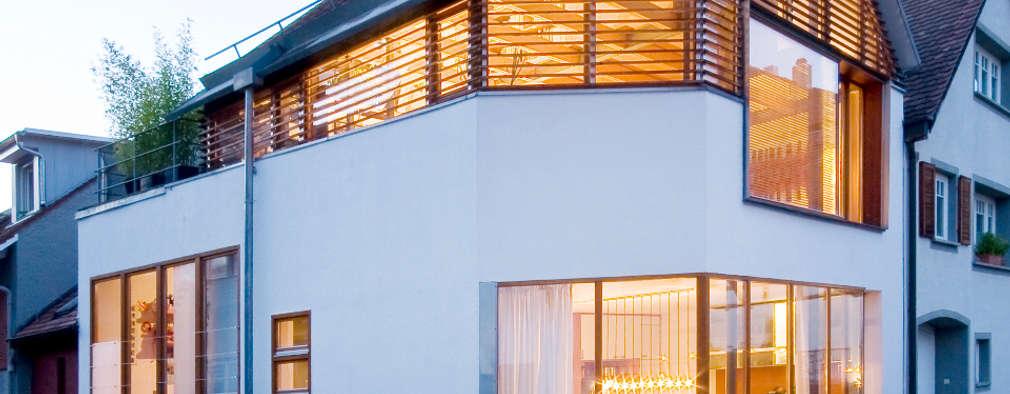 moderne Huizen door w3-architekten Gerhard Lallinger