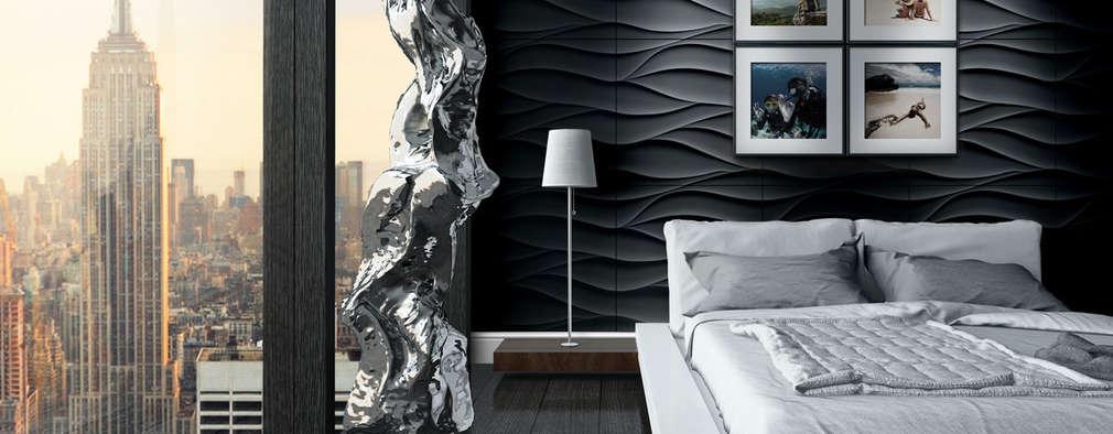Dormitorios de estilo clásico por Loft Design System Deutschland