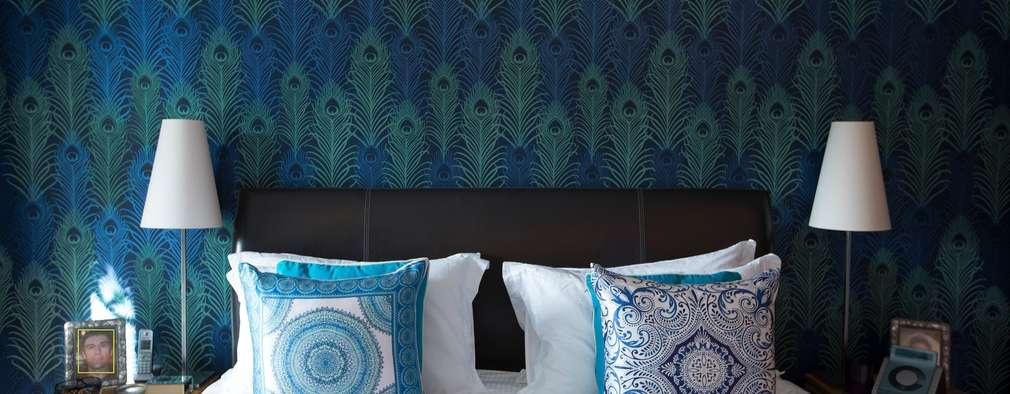 غرفة نوم تنفيذ Design by Deborah Ltd