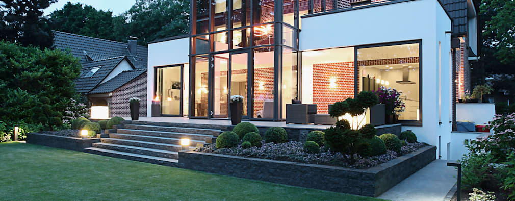 modern Houses by 28 Grad Architektur GmbH