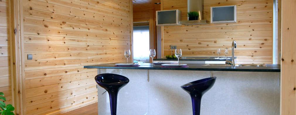 moderne Keuken door Casas Natura