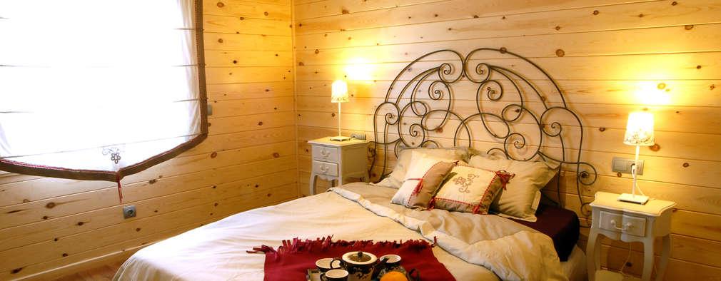 Casas Natura: modern tarz Yatak Odası