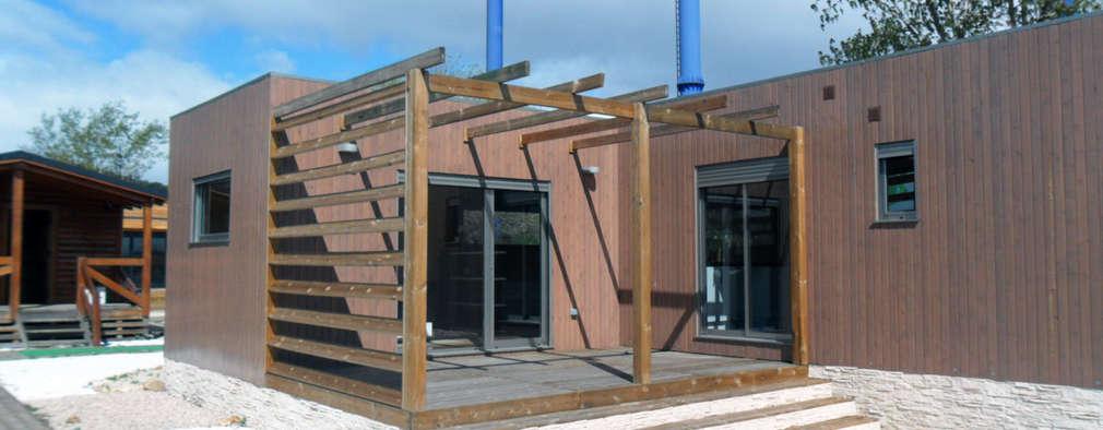 Una casa prefabricada de 96 m perfecta para un bajo - Presupuesto casa prefabricada ...