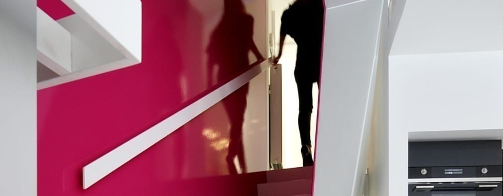 Corridor & hallway by o2-architectes