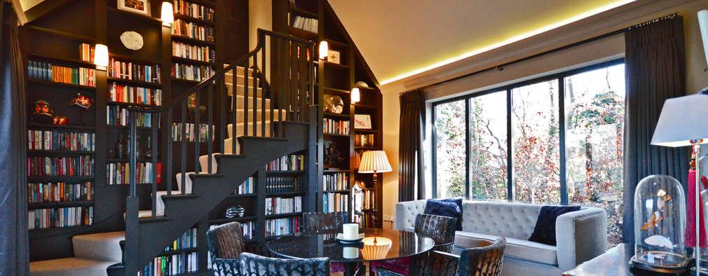 Estudios y despachos de estilo moderno por Zodiac Design
