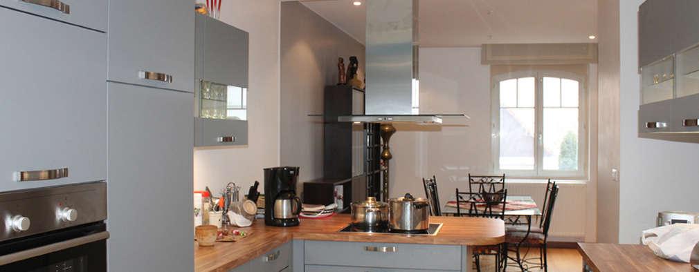 Кухни в . Автор – Agence ADI-HOME