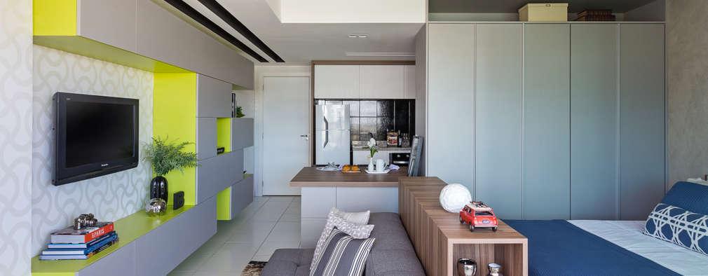 8 apartamentos tipo estudio