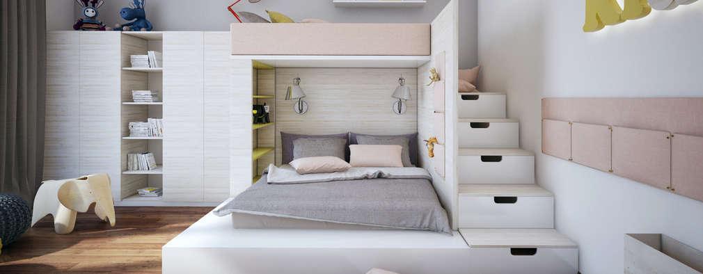 Dormitorios infantiles de estilo minimalista por DA-Design