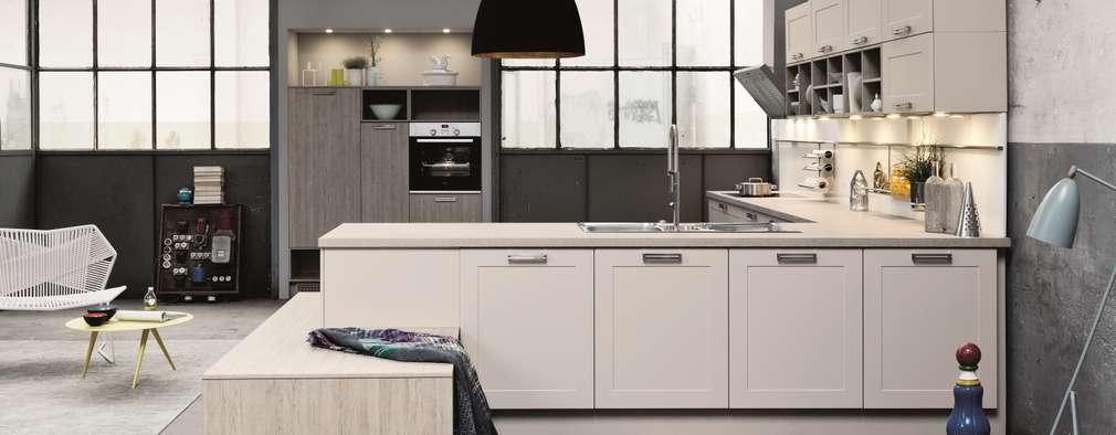 industrial Kitchen by LWK Kitchens